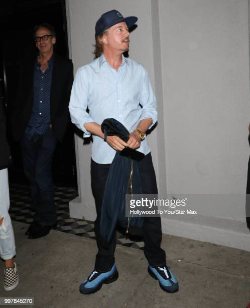 David Spade is seen on July 12 2018 in Los Angeles California
