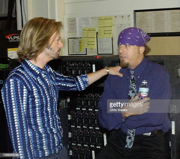 David Spade Leif Garrett during David Spade and CoStars from Paramount Pictures' Dickie Roberts Former Child Star Tape Hollywood Squares at CBS...