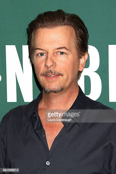 David Spade promotes his new book David Spade Almost Interesting Everything You Didn't Want to Know About Me at Barnes Noble Union Square on October...