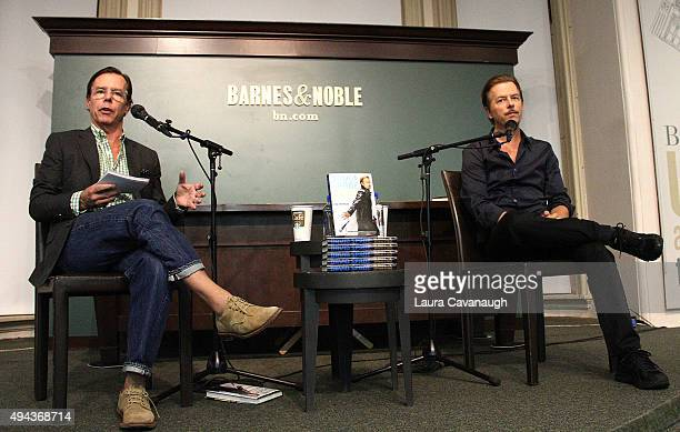 David Spade with brother Andy Spade promotes his new book David Spade 'Almost Interesting Everything You Didn't Want to Know About Me' at Barnes...