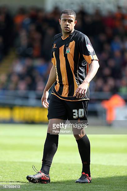 David Stephens of Barnet in action during the npower league Two match between Northampton Town and Barnet at Sixfields Stadium on April 27 2013 in...