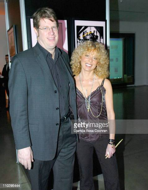 David Stern and Fran DeMonfalcon during Official GoLemur Launch Party at The Gallery at Milk Studios in New York City New York United States