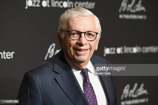 David Stern attends Jazz at Lincoln Center's 2019 Gala - The Birth of Jazz: From Bolden to Armstrong at Frederick P. Rose Hall, Jazz at Lincoln...
