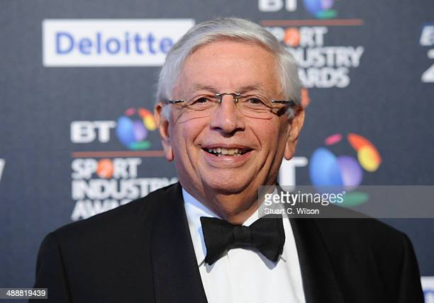 David Stern attends the BT Sport Industry Awards at Battersea Evolution on May 8, 2014 in London, England.