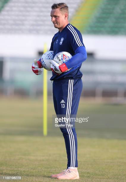 David Stockdale of Birmingham CFC in action during warm up before the start of the PreSeason Friendly match between Birmingham CFC and CD Cova da...