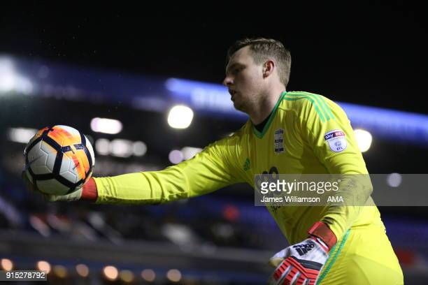 David Stockdale of Birmingham City during The Emirates FA Cup Fourth Round Replay at St Andrews on February 6 2018 in Birmingham England