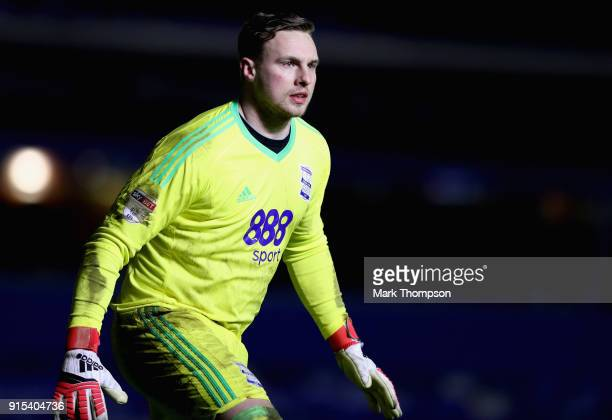 David Stockdale of Birmingham City in action during the Emirates FA Cup Fourth Round Replay between Birmingham City and Huddersfield Town at St...