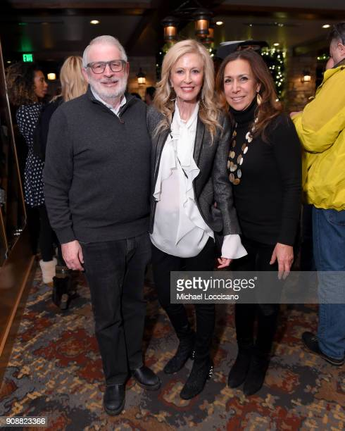 David Stockman Jennifer Stockman and Lana Iny attend 2018 HBO Documentary Films Party At Sundance 2018 during the 2018 Sundance Film Festival at...