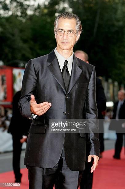 David Strathairn during 2005 Venice Film Festival Closing Ceremony Red Carpet at Palazzo del Cinema in Venice Lido Italy
