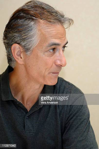 David Strathairn during 'Good Night and Good Luck' Press Conference with David Strathairn and George Clooney at Park Hyatt Century City in Century...