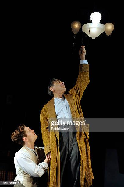 David Suchet as James Tyrone and Kyle Soller as Edmund Tyrone in Eugene O'Neill's Long Day's Journey into Night directed by Anthony Page at the...