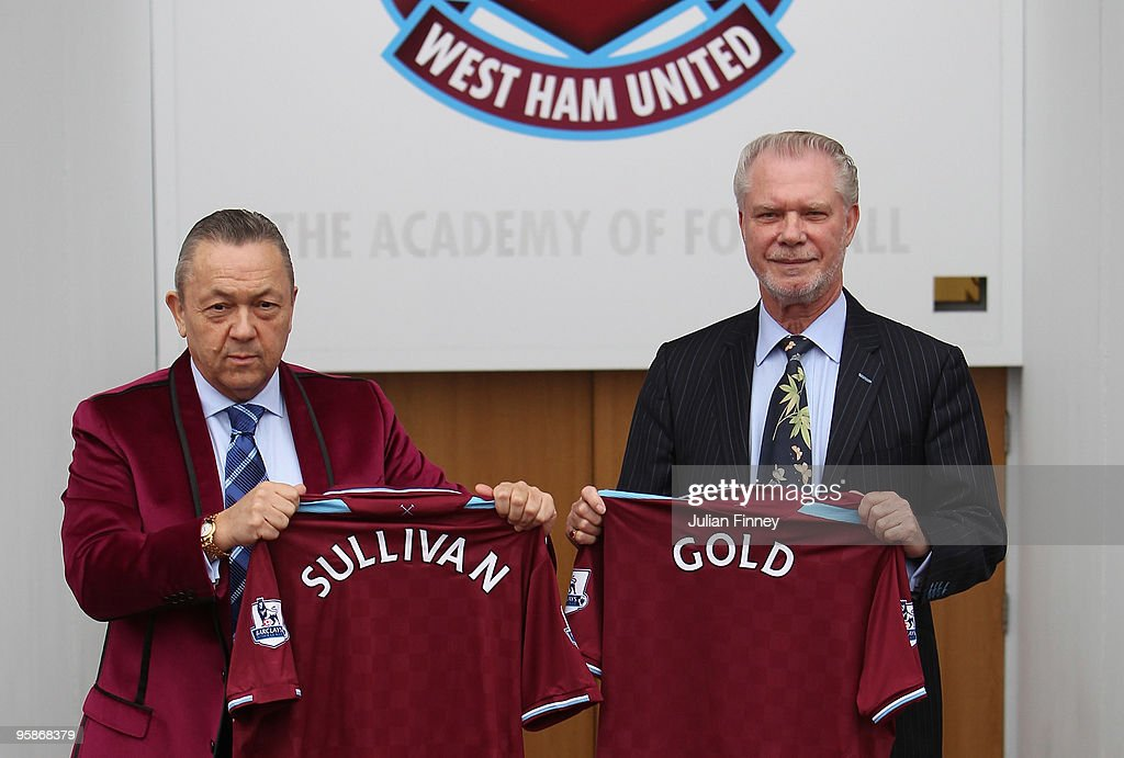 West Ham United Announce New Chairmen : News Photo