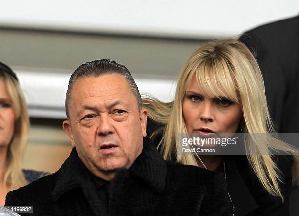 David Sullivan co-owner of West Ham during the Barclays Premier League match between West Ham United and Sunderland at the Boleyn Ground on May 22,...