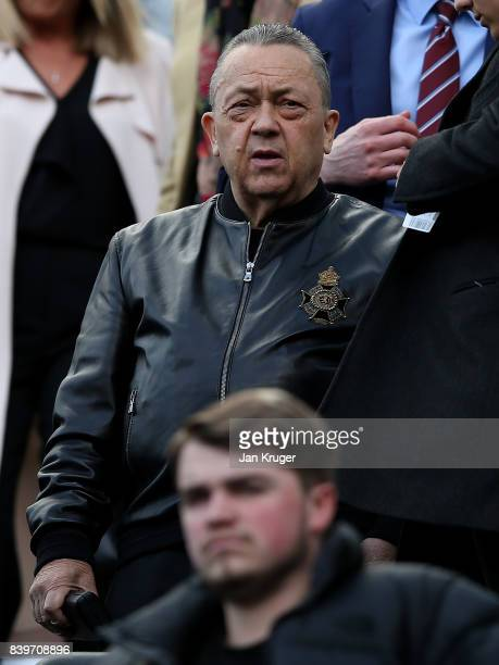 David Sullivan during the Premier League match between Newcastle United and West Ham United at St James Park on August 26 2017 in Newcastle upon Tyne...