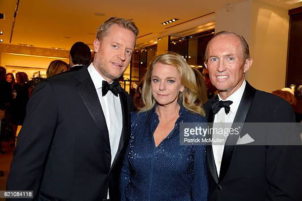 David Svanda Debbie Bancroft and Mark Gilbertson attend the Lenox Hill Neighborhood House Associates Committee Fall Benefit Celebrate the...