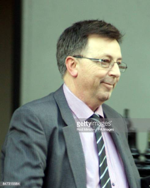 David Sydney Evans leaves Bristol Crown where he is on trial for impersonating a barrister Evans wore a wig and gown to represent his friend who he...