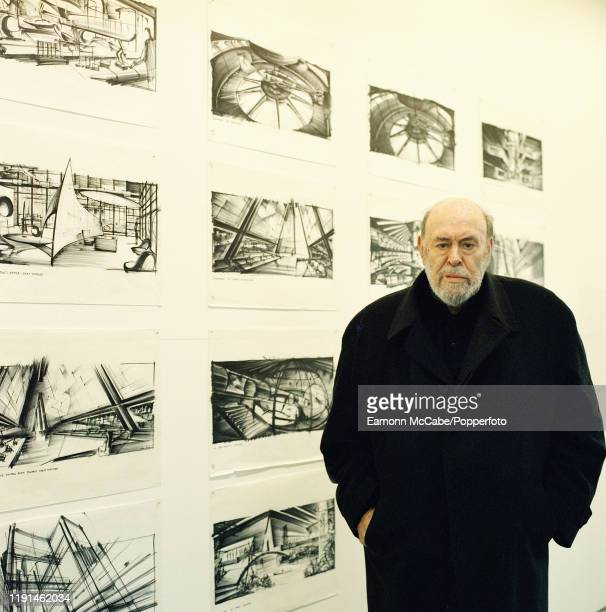 David Sylvester , British art critic and curator, circa November 2000. Sylvester became well known in the 1960's after producing a number of films...