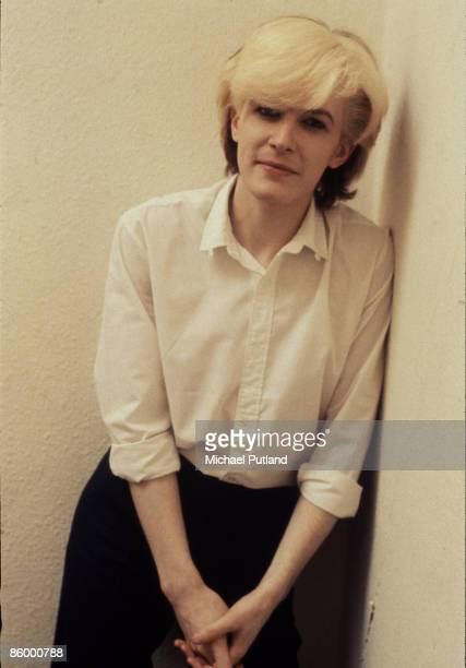 David Sylvian of avantgarde band Japan poses during his first solo promotion in London 1980