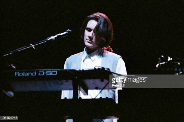 David Sylvian performs on stage at Hammersmith Odeon on May 28th 1988 in London United Kingdom