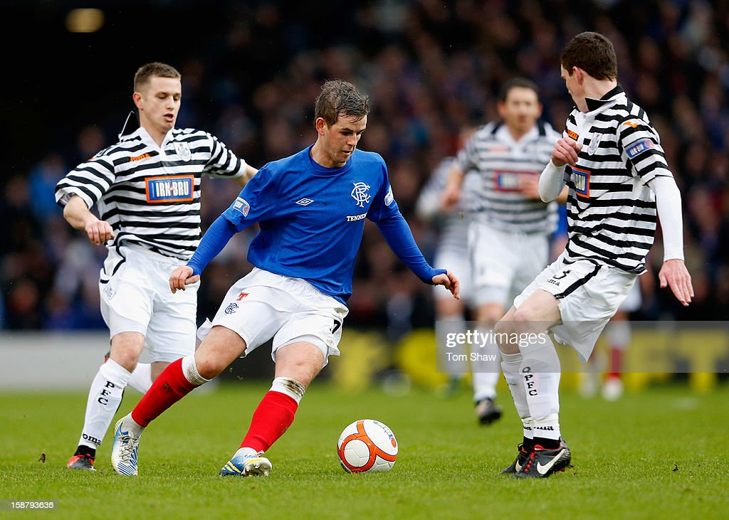 David Templeton of Rangers during the IRN-BRU Scottish Third Division match between Queens Park and Rangers at Hampden Park on December 29, 2012 in Glasgow, Scotland.