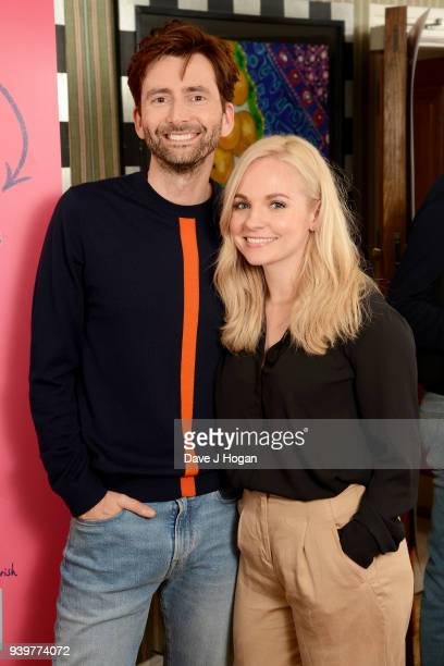 David Tennant and producer Georgia Tennant attend a special screening of You Me And Him at Charlotte Street Hotel on March 29 2018 in London England