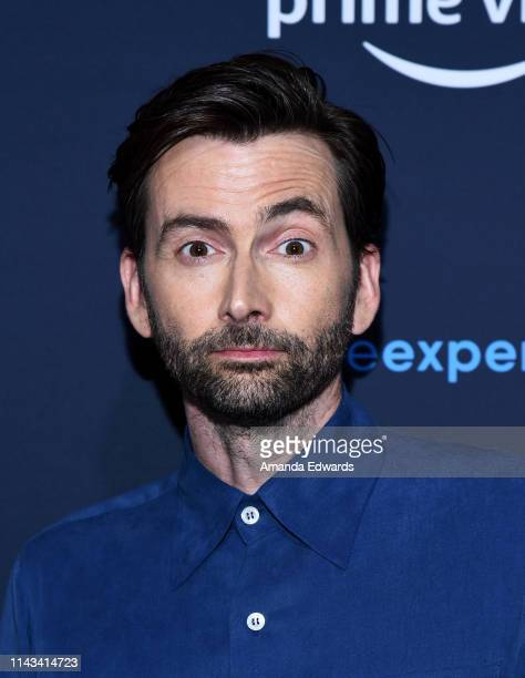 David Tennant arrives at the For Your Consideration Screening of Amazon Studios' Good Omens at The Hollywood Athletic Club on April 17 2019 in Los...