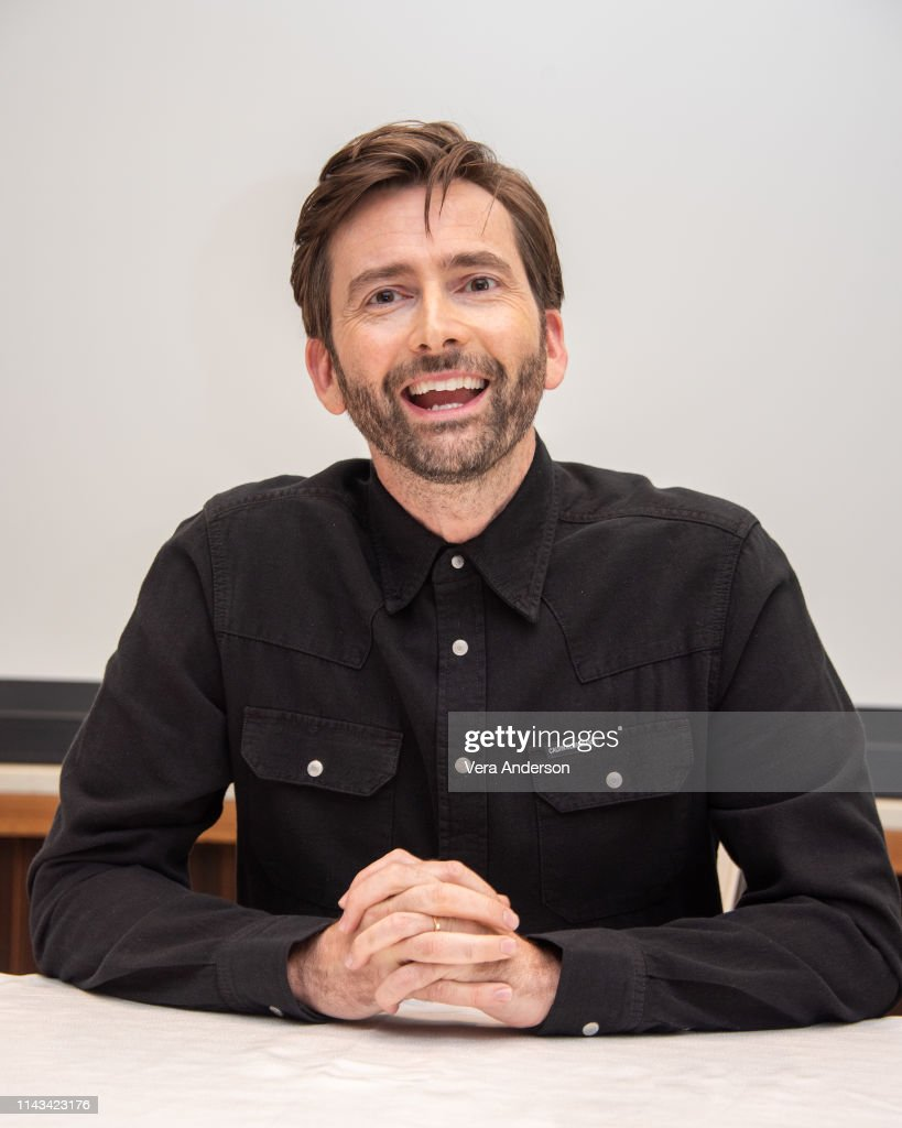 """Good Omens"" Press Conference : News Photo"
