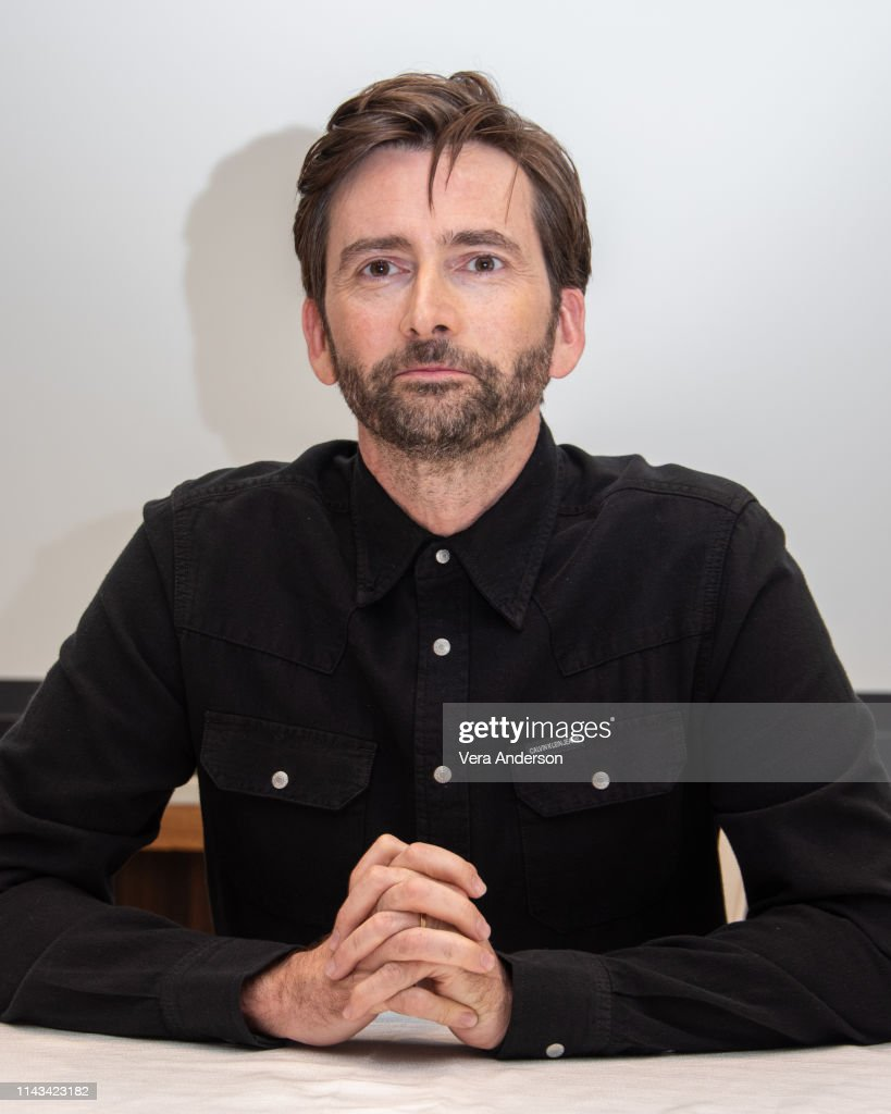 """""""Good Omens"""" Press Conference : News Photo"""