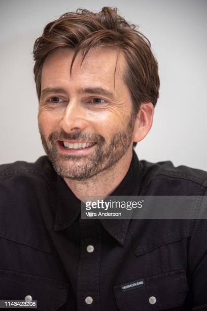 David Tennant at the Good Omens Press Conference at the Four Seasons Hotel on April 17 2019 in Beverly Hills California
