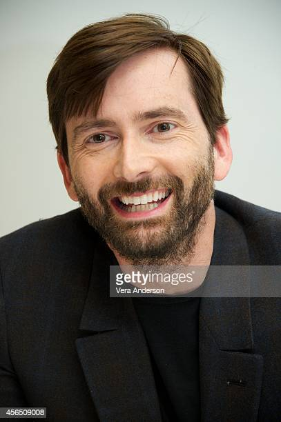 David Tennant at the Gracepoint Press Conference at the Four Seasons Hotel on September 30 2014 in Beverly Hills California