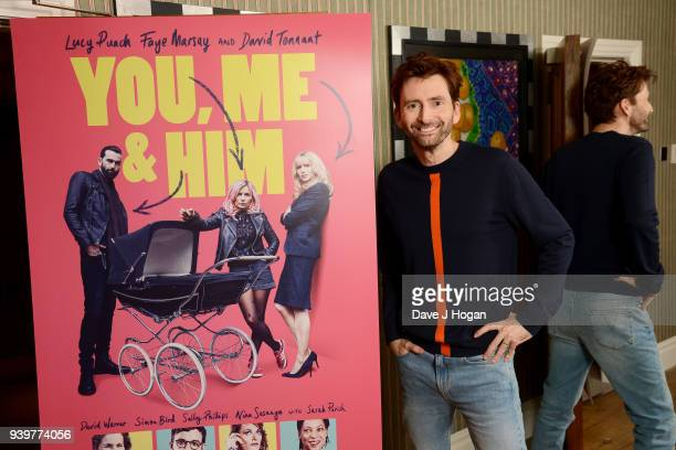 David Tennant attends a special screening of You Me And Him at Charlotte Street Hotel on March 29 2018 in London England