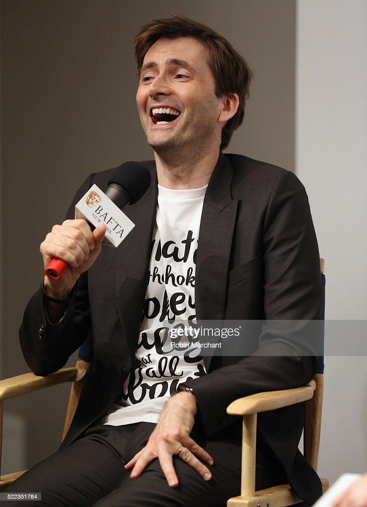 "BAFTA New York With Tribeca Shortlist Hosts ""In Conversation With David Tennant"" : News Photo"
