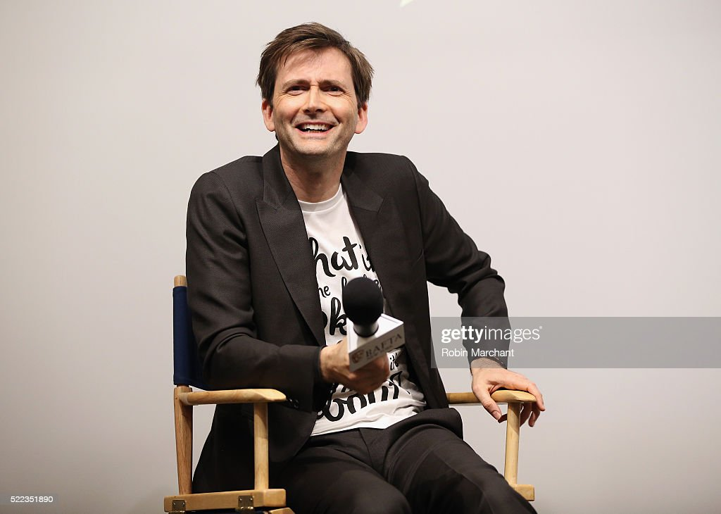 "BAFTA New York With Tribeca Shortlist Hosts ""In Conversation With David Tennant"" : News Photo"