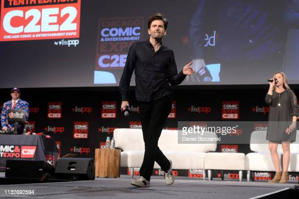 David Tennant attends C2E2 Chicago Comic Entertainment Expo on March 23 2019 in Chicago Illinois