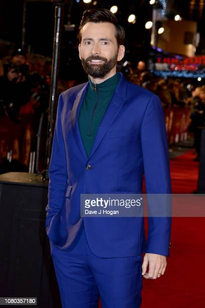 David Tennant attends the European Premiere of Mary Queen of Scots at Cineworld Leicester Square on December 10 2018 in London England