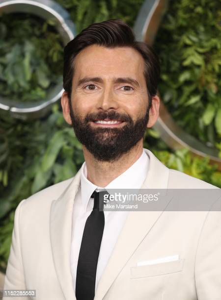 David Tennant attends the Global premiere of Amazon Original Good Omens at Odeon Luxe Leicester Square on May 28 2019 in London England