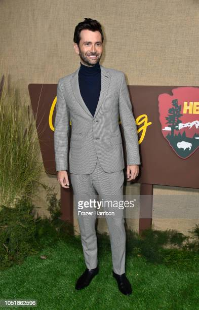 David Tennant attends the Los Angeles Premiere Of HBO Series Camping at Paramount Studios on October 10 2018 in Hollywood California
