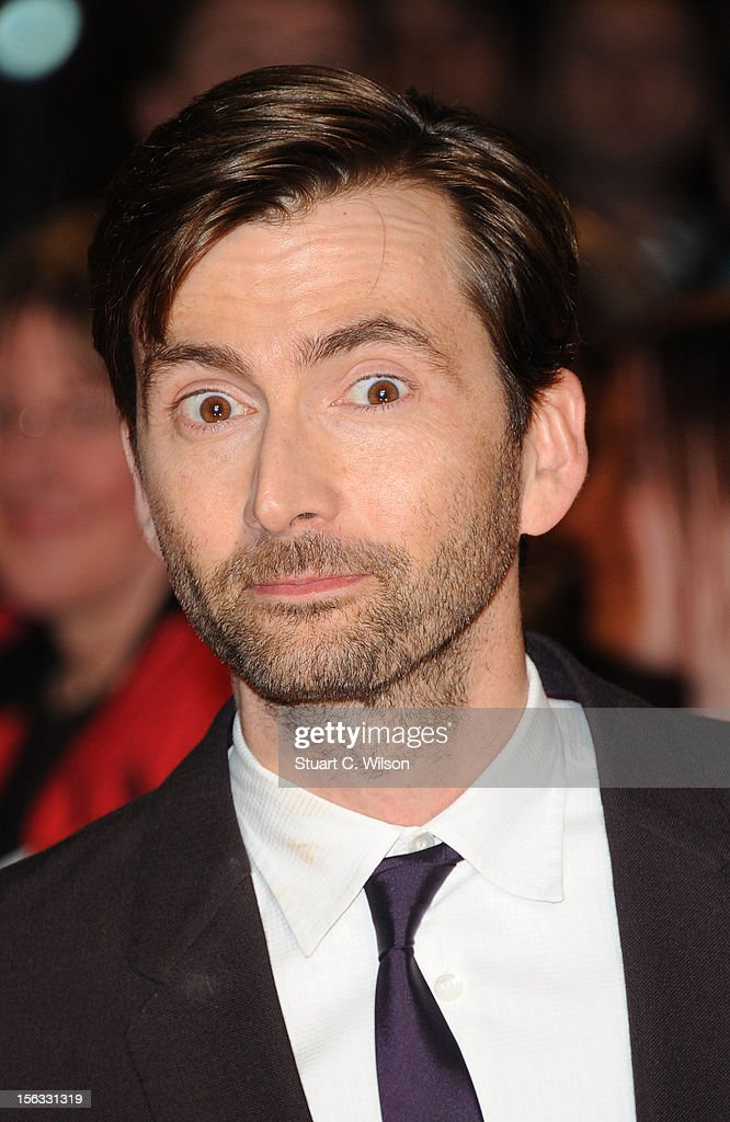 David Tennant attends the 'Nativity 2: Danger In The Manger' premiere at Empire Leicester Square on November 13, 2012 in London, England.