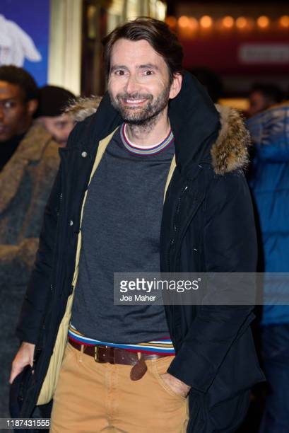David Tennant attends the opening night performance of Mary Poppins at Prince Edward Theatre on November 13 2019 in London England