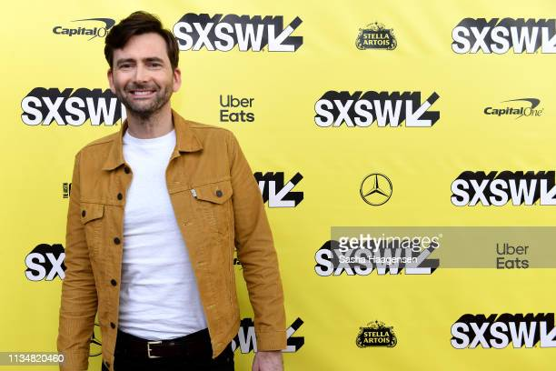 David Tennant attends the premiere for Good Omens The Nice and Accurate during SXSW at ZACH Theatre on March 09 2019 in Austin Texas