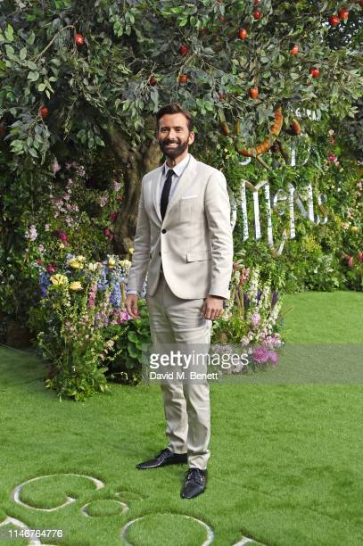 David Tennant attends the World Premiere of new Amazon Original Good Omens at the Odeon Luxe Leicester Square on May 28 2019 in London England