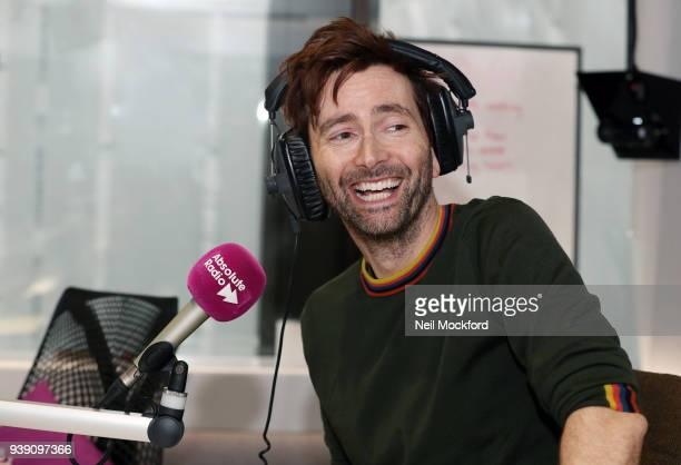 David Tennant hosts The Breakfast Show on Absolute Radio on March 28 2018 in London England