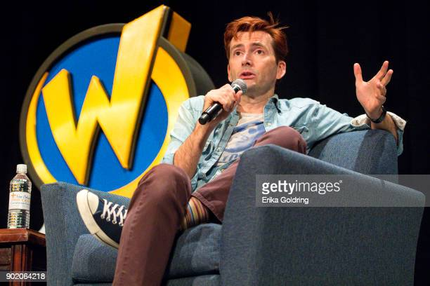 David Tennant participates in a QA during Wizard World Comic Con at Ernest N Morial Convention Center on January 6 2018 in New Orleans Louisiana