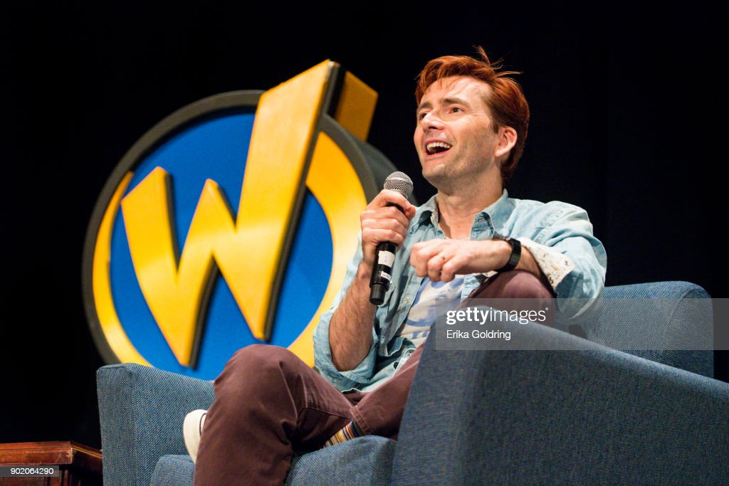 David Tennant participates in a Q&A during Wizard World Comic Con at Ernest N. Morial Convention Center on January 6, 2018 in New Orleans, Louisiana.