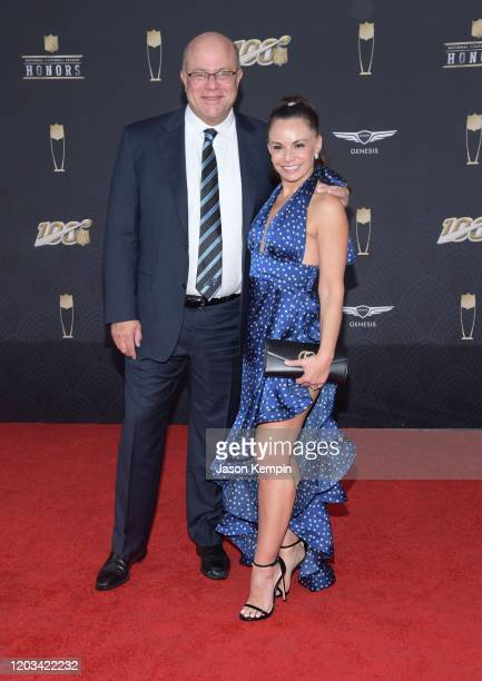 David Tepper and guest attend the 9th Annual NFL Honors at Adrienne Arsht Center on February 01, 2020 in Miami, Florida.