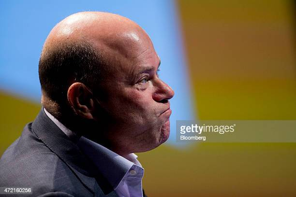David Tepper president of Appaloosa Management LP pauses while speaking during the 20th Annual Sohn Investment Conference in New York US on Monday...