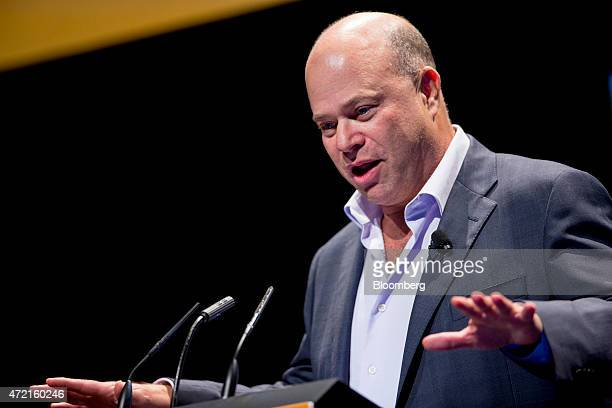 David Tepper president of Appaloosa Management LP speaks during the 20th Annual Sohn Investment Conference in New York US on Monday May 4 2015 Since...