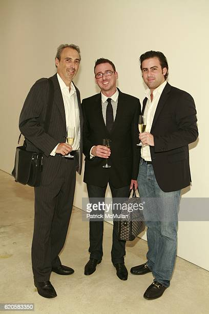 David Thalberg Lynn Willis and John Weiss attend LOUIS XIII Celebrates WALLPAPER'S Guest Editor LOUISE BOURGEOISE with HELMUT LANG at Cheim Reid and...