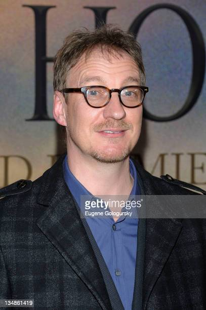 David Thewlis attends the 'War Horse' world premiere at Avery Fisher Hall at Lincoln Center for the Performing Arts on December 4 2011 in New York...