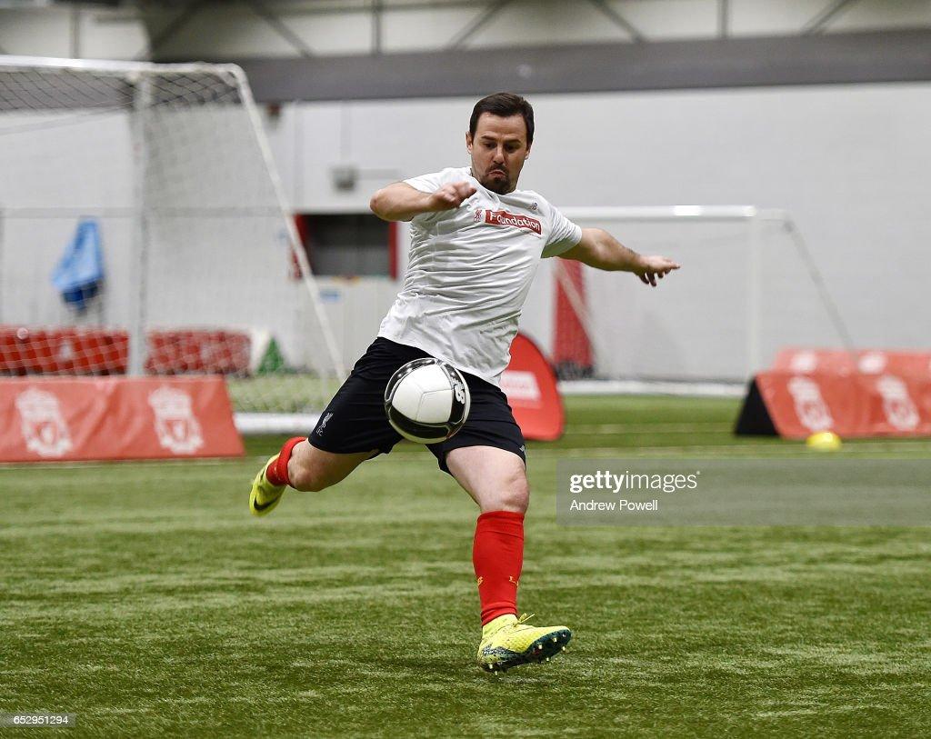 Liverpool Legends Training Session